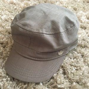 Adidas Unisex Baker Boy Hat Khaki Canvas Cap L/XL